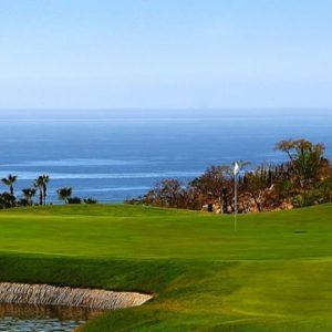 Cabo Real golf course ocean view questro Golf Los Cabos cabo san lucas las residencias golf and spa diamante
