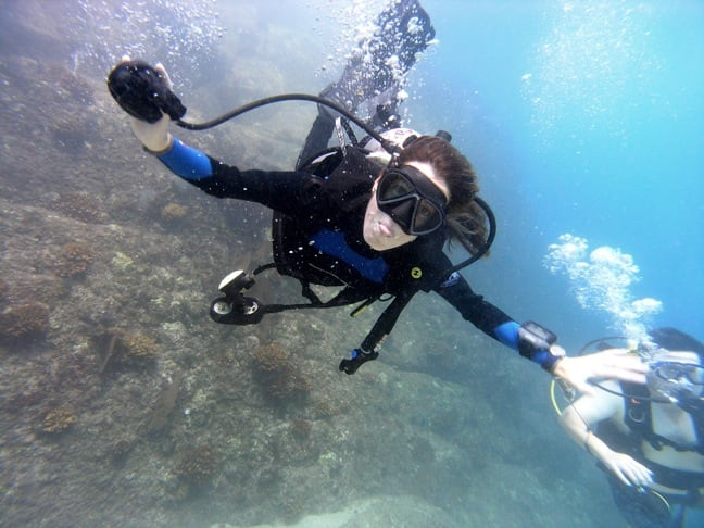 Scuba Diving in Los Cabos offers an incredible experience