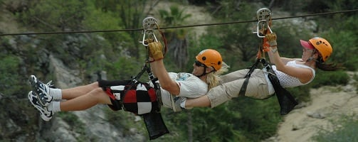 the best zip lining tours in los cabos
