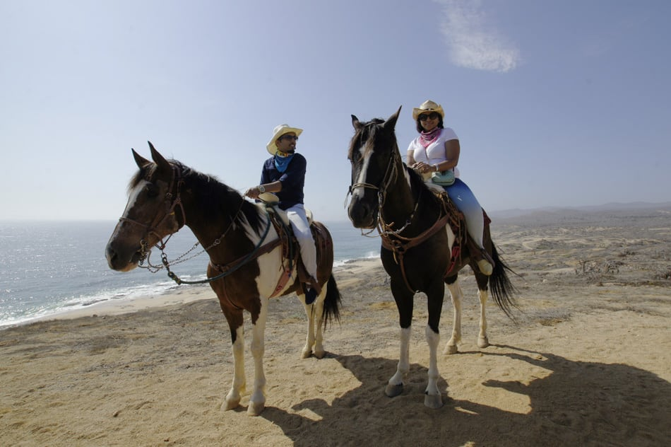 Horseback riding on the beaches of Cabo San Lucas Los Cabos
