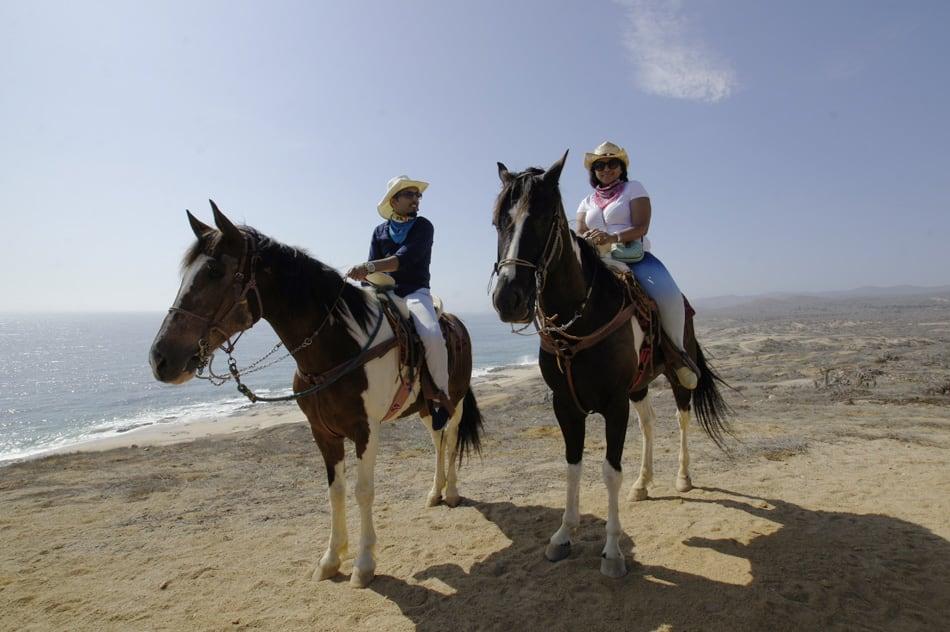 Horseback riding los Cabos with cactus tours and wild canyon horseback